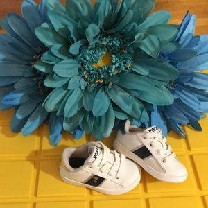 Toddler Girls Polo Ralph Lauren Tennis Shoes